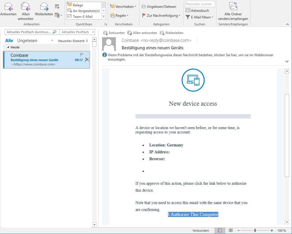 coinbase verifizierung funktioniert nicht