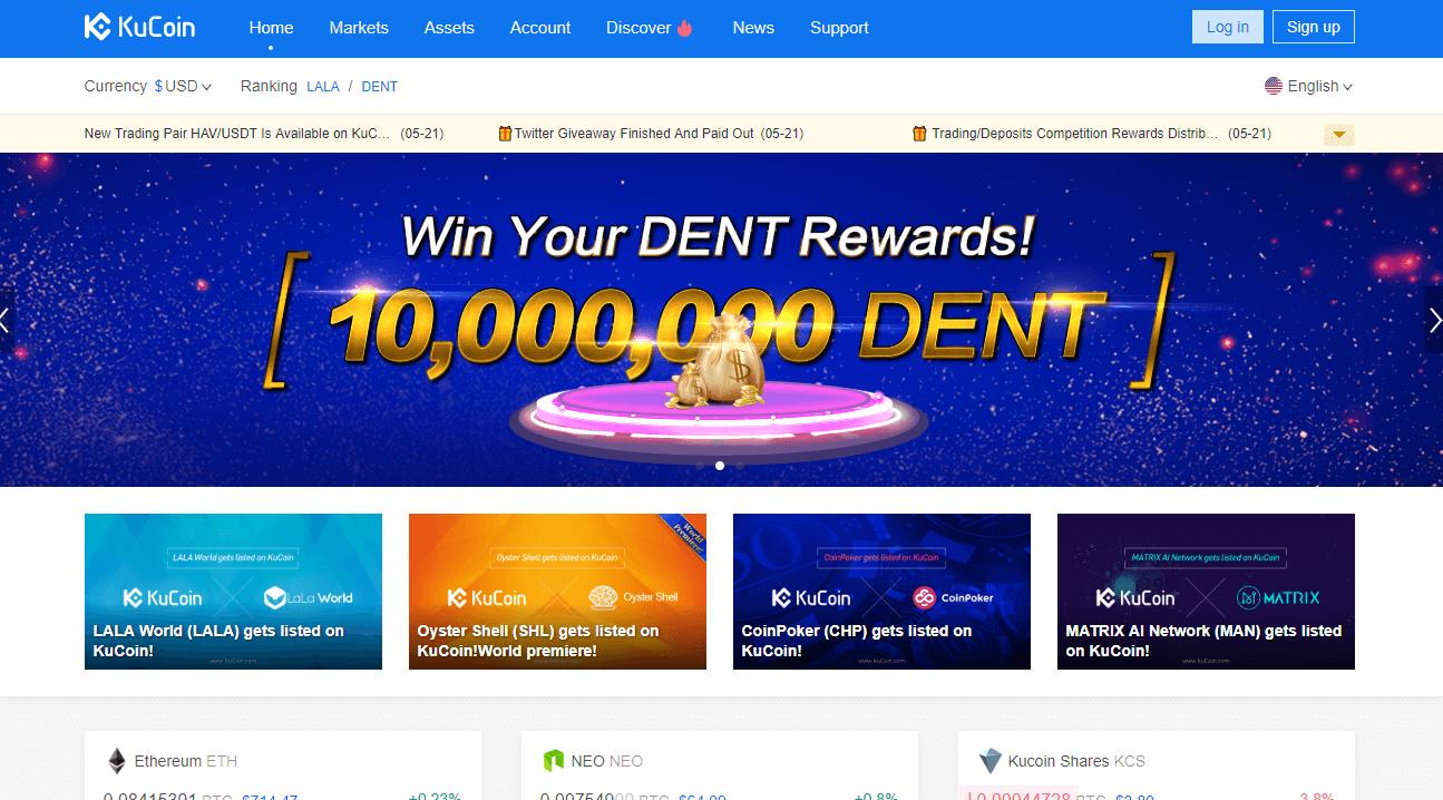Wo kaufen Sie Kucoin Crypto?