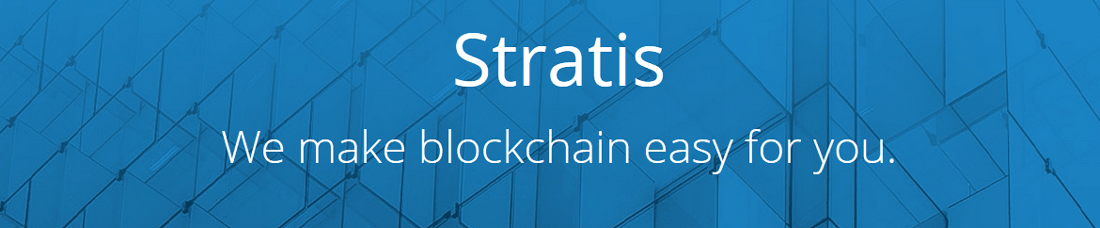 Stratis (STRAT) Kryptowährung Homepage Screenshot